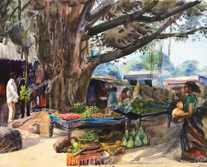 Farmers Market of Sinjia