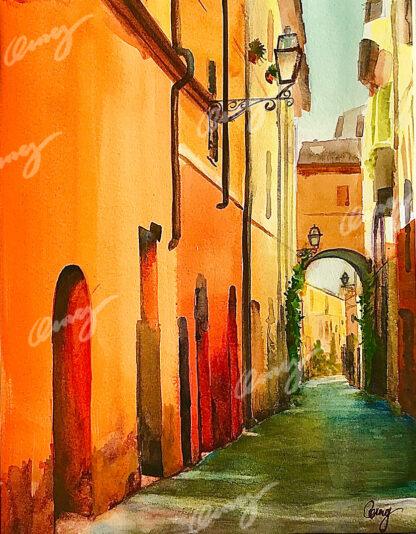 Lane of Milan